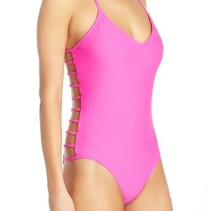 Nina' Side Strap One-Piece Swimsuit BODY GLOVE